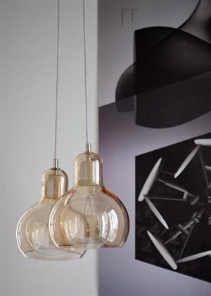 tradition mega bulb sr2 pendel silber mit klarer leitung frei haus. Black Bedroom Furniture Sets. Home Design Ideas