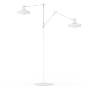 Grupa Products Arigato Double Stehlampe Weiß