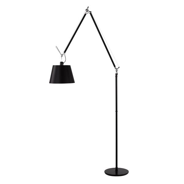 artemide tolomeo mega stehlampe schwarz kauf hier. Black Bedroom Furniture Sets. Home Design Ideas