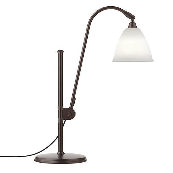 Büro & Schreibwaren Tischleuchten Kraftvoll Tischlampe Grau Led Ohne RüCkgabe