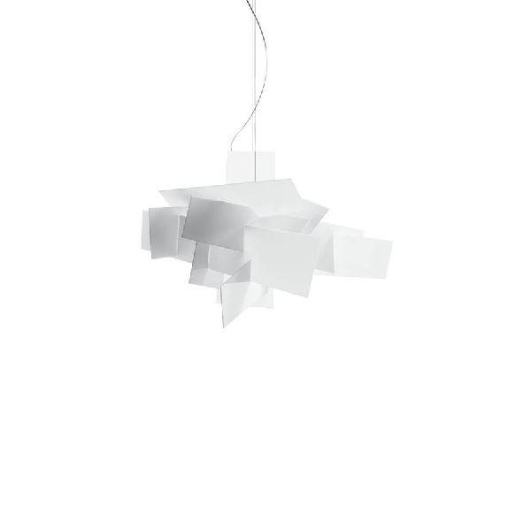 Foscarini Big Bang LED Pendelleuchte Weiß m. Lichtdämpfer - Kauf hier!