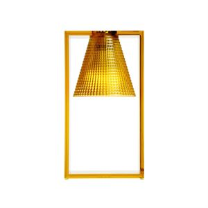 Kartell Light-Air Tischleuchte Sculpted Amber