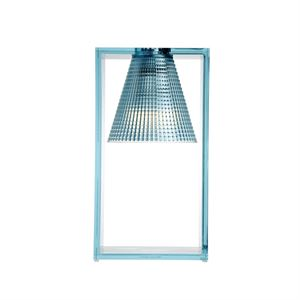 Kartell Light-Air Tischleuchte Sculpted Hellblau