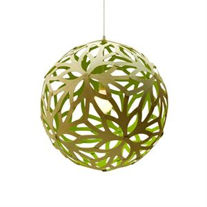 David Trubridge Floral Lime Pendel