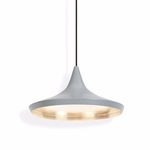 Tom Dixon Beat Pendelleuchte Wide Grau