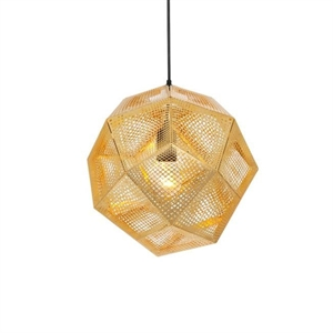 Tom Dixon Etch Messing Pendelleuchte