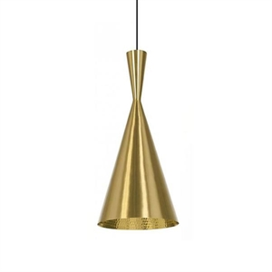 Tom Dixon Beat Pendelleuchte Tall Messing