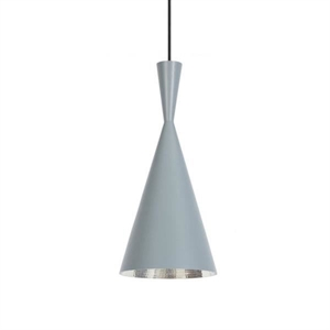 Tom Dixon Beat Pendelleuchte Tall Grau