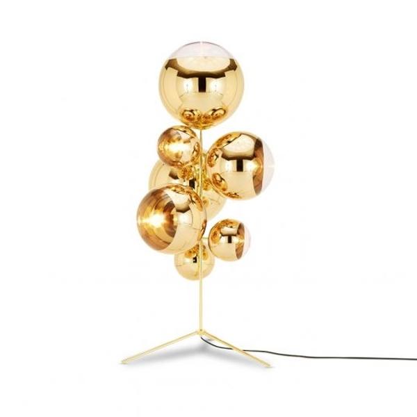 Tom Dixon Mirror Ball Chandelier Stehlampe Gold Online