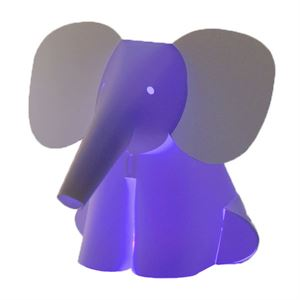 Zoolight Mini Elefant Kinder Tischlampe
