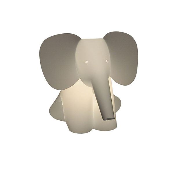 Zoolight Elefant Kinder Tischlampe Frei Haus